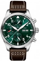 IWC Pilots Watch Chronograph Edition Racing Green IW377726