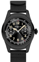 Montblanc Summit Smartwatch - Bi-color Steel Case with Black Rubber Strap 117537