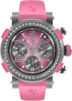 Romain Jerome Arraw Chronograph 42 mm Titanium Pink Diamonds 1M42C.TTTR.4520.RB.1101