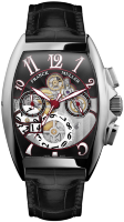 Franck Muller Mens Collection Cintree Curvex Grande Date 8083 CC GD SQT OG N