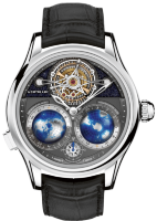 Montblanc Collection Villeret Tourbillon Cylindrique NightSky Geospheres Limited Edition 115053