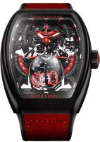 Franck Muller Mens Collection Vanguard Revolution 3 Skeleton V 50 REV 3 SQT NR BR (ER)