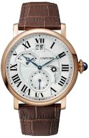Cartier Rotonde de Cartier Watch Large Date Retrograde Second Time Zone And Day/Night Indicator W1556240