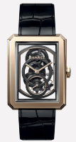 Chanel Boy-Friend Skeleton Watch H5254