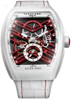 Franck Muller Mens Collection Vanguard Skeleton Swiss Limited Edition V 45 S6 SQT BC (ER)