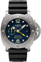 Officine Panerai Special Editions 2016 Luminor Submersible 1950 3 Days GMTAutomatic Titanio 47 mm PAM00719