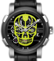 Romain Jerome Skylab 48 Speed Metal Yellow Skull RJ.M.AU.030.15