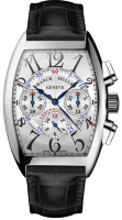 Franck Muller Mens Collection Cintree Curvex Chronographe 8880 CC AT White Gold