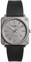 Bell & Ross Instruments 39 mm BR S-92 Matte Grey BRS92-GR-ST/SRB