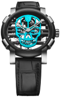 Romain Jerome Skylab 48 Speed Metal Cyan Skull RJ.M.AU.030.16