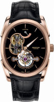 Parmigiani Fleurier Ovale Tourbillon 10 Rose Gold Black PFH750-1003800-HA1441