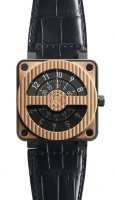 Bell & Ross Aviation BR 01 Flight Instruments BR 01-92 Compass Rose Gold & Carbon