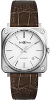 Bell & Ross Instruments 39 mm BR S-92 White Steel BRS92-WH-ST/SCR