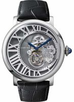 Cartier Rotonde de Cartier Flying Tourbillon Love Dial Watch W1556214