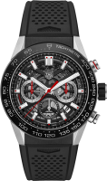 TAG Heuer Carrera Calibre 02 Automatic Chronograph 45 mm CBG2A10.FT6168