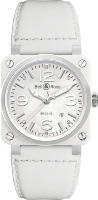 Bell & Ross Instruments BR-03 White Ceramic BR0392-WH-C/SCA