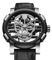 Romain Jerome Skylab 48 Speed Metal Silver Skull RJ.M.AU.030.19