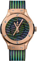 Hublot Classic Fusion Cruz Diez King Gold 38mm 565.OX.8900.VR.CZD19
