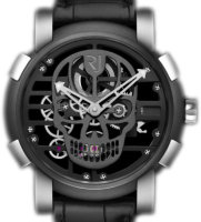 Romain Jerome Skylab 48 Speed Metal Anthracite Skull RJ.M.AU.030.20