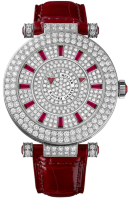 Franck Muller Ladies Collection Round Double Mystery 42 DM D 2R CD Red