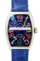 Franck Muller Mens Small Cintree Curvex 5850 SC COL DRM-10