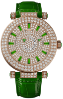 Franck Muller Ladies Collection Ronde Double Mystery 42 DM D 2R CD Green