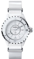 Chanel J12 White-G10 Gloss Watch H4656