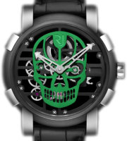 Romain Jerome Skylab 48 Speed Metal Green Skull RJ.M.AU.030.23