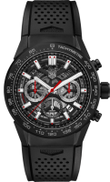 TAG Heuer Carrera Calibre 02 Automatic Chronograph 45 mm CBG2A90.FT6173