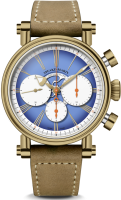 Speake Marin Haute Horlogerie London Chronograph Bronze Blue Dial 594208060