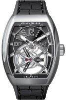 Franck Muller Mens Collection Gravity Vanguard Yachting V 50 LT GRAVITI CS AC.NR