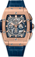Hublot Spirit of Big Bang King Gold Blue 42 mm 641.OX.7180.LR