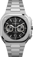 Bell & Ross Instruments BR 05 Chrono Black Steel BR05C-BL-ST