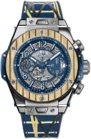 Hublot Big Bang Unico Teak Italia Independent Titanium 45 mm 411.NQ.5129.NR.ITI19