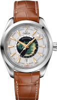 Seamaster Aqua Terra 150m Omega Co-axial Master Chronometer GMT Worldtimer 43 mm 220.93.43.22.99.001