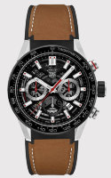 TAG Heuer Carrera Calibre 02 Automatic Chronograph 100M 43 mm CBG2010.FT6144