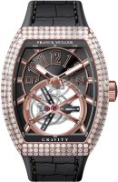 Franck Muller Mens Collection Gravity Vanguard Yachting V 50 LT GRAVITI CS D 5N.NR