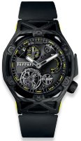 Hublot Big Bang Techframe Ferrari Tourbillon Chronograph Carbon Yellow 45 mm 408.QU.0129.RX