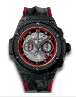 Hublot King Power Unico Carbon And Red 48 701.QX.0113.HR