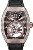 Franck Muller Mens Collection Gravity Vanguard Yachting V 50 LT GRAVITI CS D NBR CD 5N.NR