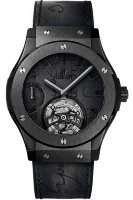 Hublot Classic Fusion Tourbillon Power Reserve 5 Days Berluti Scritto All Black 45 mm 505.CM.0500.VR.BER17