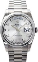 Rolex Day-Date President White Gold Ladies 118209 SDP