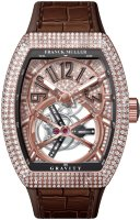 Franck Muller Mens Collection Gravity Vanguard Yachting V 50 LT GRAVITI CS D CD 5N.NR