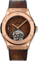 Hublot Classic Fusion Tourbillon Power Reserve 5 Days Berluti Scritto King Gold 45 mm 505.OX.0500.VR.BER17