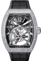 Franck Muller Mens Collection Gravity Vanguard Yachting V 50 LT GRAVITI CS D NBR CD AC.NR