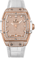 Hublot Spirit of Big Bang King Gold White Full Pave 665.OE.9010.LR.1604