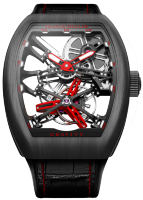 Franck Muller Grand Complications Graviti Skeleton V 45 T GRAVITY CS SQT Carbon
