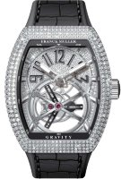 Franck Muller Mens Collection Gravity Vanguard Yachting V 50 LT GRAVITI CS D CD AC.NR