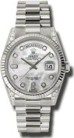 Rolex Day-Date President White Gold Ladies 118339 MDP
