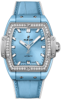 Hublot Spirit of Big Bang Light Blue Ceramic Titanium Diamonds 665.EN.891L.LR.1204